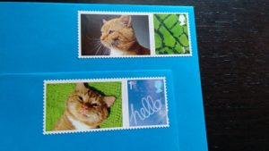 A selection of Bilbo stamps.