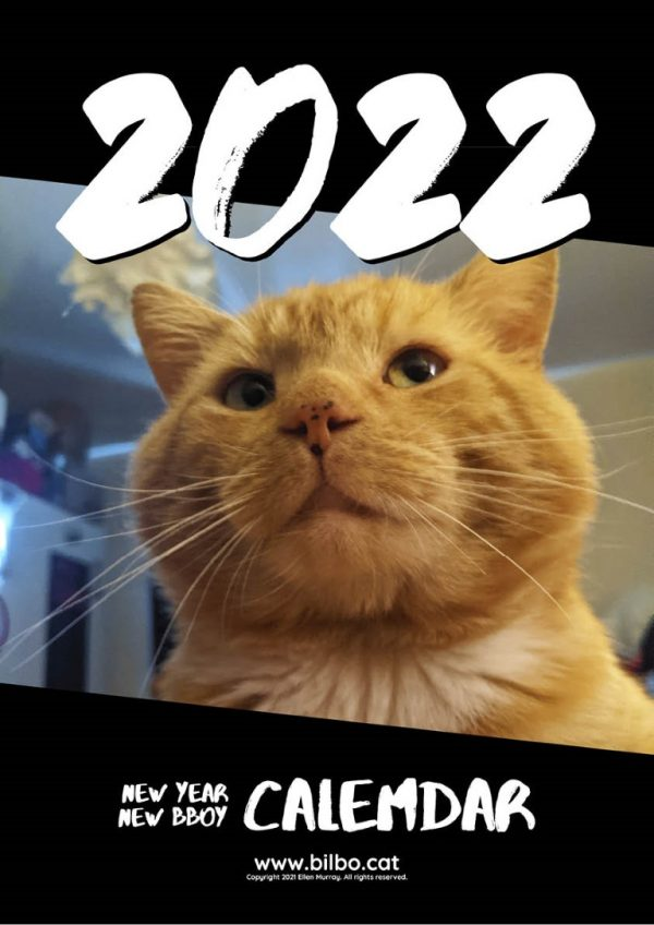The cover page of the Bilbo 2022 calendar.